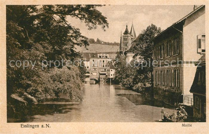 AK / Ansichtskarte Esslingen Neckar Maille Kat. Esslingen am Neckar
