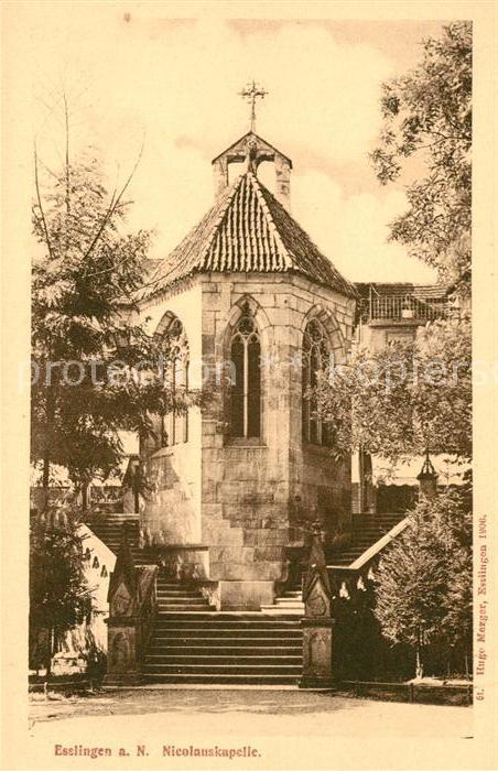 AK / Ansichtskarte Esslingen Neckar Nicolauskapelle Kat. Esslingen am Neckar