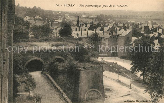 AK / Ansichtskarte Sedan Ardennes Vue panoramique prise de la Citadelle Kat. Sedan