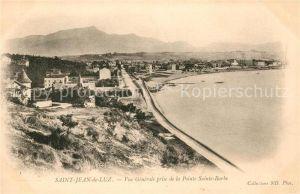 AK / Ansichtskarte Saint Jean de Luz Vue generale prise de la Pointe Sainte Barbe Kat. Saint Jean de Luz