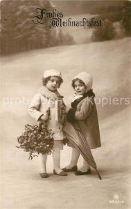 AK / Ansichtskarte Foto RPH Nr. 3932 6 Kinder Maedchen Wintermode Weihnachten  Kat. Fotografie