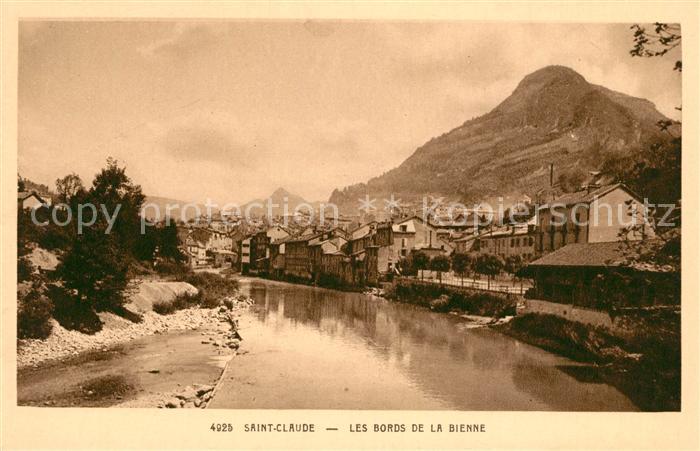 AK / Ansichtskarte Saint Claude Jura Les Bords de la Bienne Kat. Saint Claude