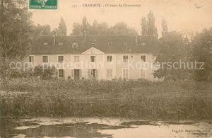 AK / Ansichtskarte Charmoy Yonne Chateau de Charmeaux Kat. Charmoy