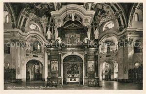 AK / Ansichtskarte Einsiedeln SZ Stift Kirche mit Gnadenkapelle Kat. Einsiedeln