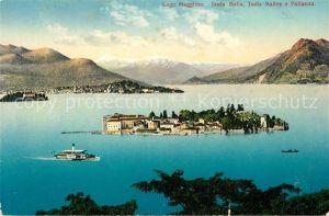 AK / Ansichtskarte Isola Bella Lago Maggiore Isola Madre e Pallanza