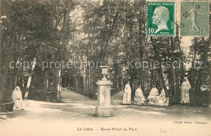 AK / Ansichtskarte Orleans Loiret Le Cedre Rond Point du Parc Kat. Orleans