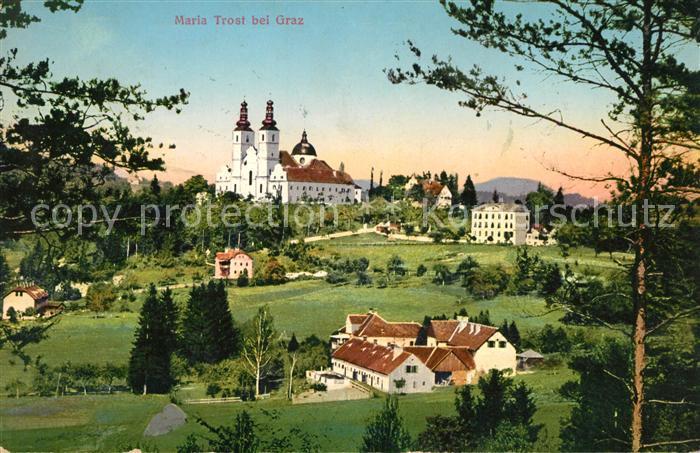 AK / Ansichtskarte Maria Trost Wallfahrtskirche Kat. Mariatrost Graz