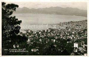 AK / Ansichtskarte Cannes Alpes Maritimes Vue generale prise de la Californie Kat. Cannes