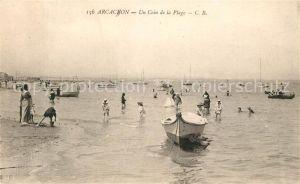 AK / Ansichtskarte Arcachon Gironde Un Coin de la Plage Kat. Arcachon