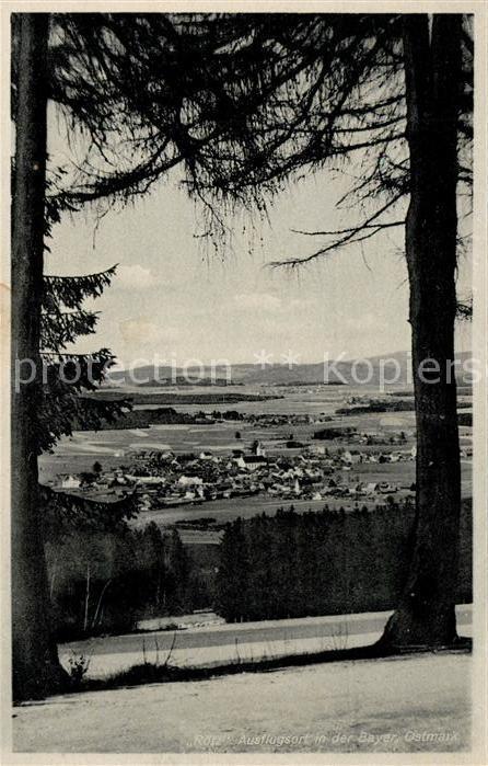 AK / Ansichtskarte Roetz Oberpfalz Panorama Kat. Roetz
