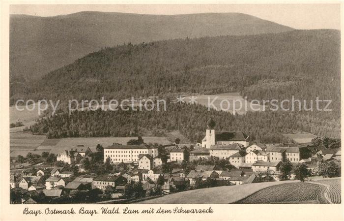 AK / Ansichtskarte Lam Oberpfalz mit dem Schwarzeck Kat. Lam