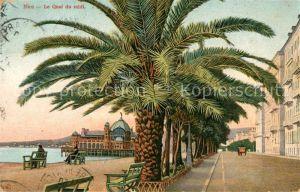 AK / Ansichtskarte Nice Alpes Maritimes Quai du Midi des palmiers Cote d Azur Kat. Nice