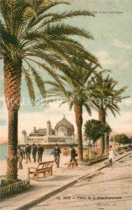 AK / Ansichtskarte Nice Alpes Maritimes Palais de la Jetee Promenade Cote d Azur Kat. Nice