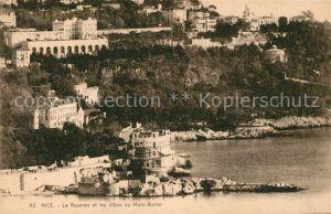 AK / Ansichtskarte Nice Alpes Maritimes Restaurant de la Reserve et les Villas du Mont Boron Cote d Azur Kat. Nice