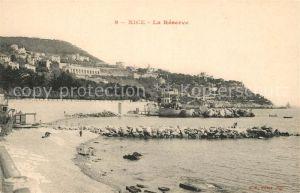 AK / Ansichtskarte Nice Alpes Maritimes Plage et Restaurant de la Reserve Cote d Azur Kat. Nice
