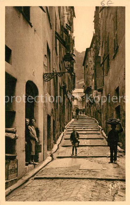 AK / Ansichtskarte Nice Alpes Maritimes Vieille rue Kat. Nice