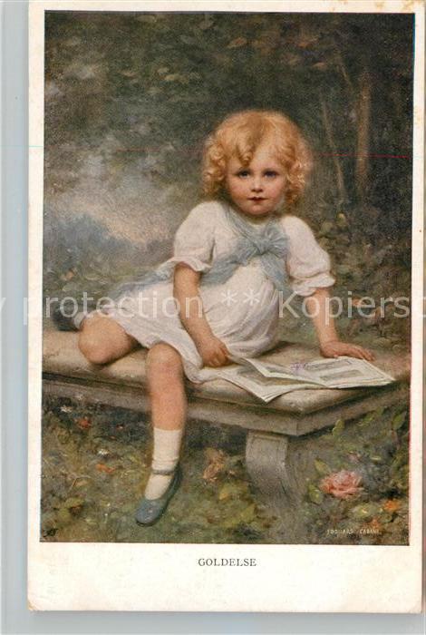 AK / Ansichtskarte Munk M. Wien Vienne Nr. 880 Goldelse  Kat. Kuenstlerkarte