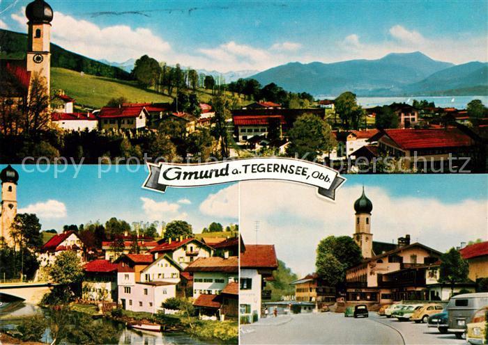 AK / Ansichtskarte Gmund Tegernsee  Kat. Gmund a.Tegernsee