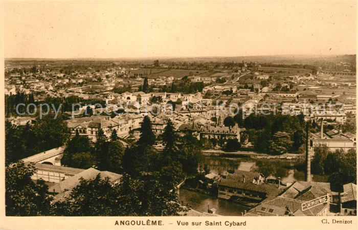 AK / Ansichtskarte Angouleme Vue sur Saint Cybard Kat. Angouleme