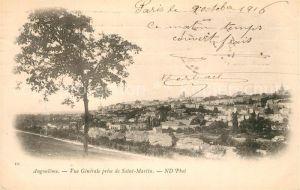 Angouleme Vue generale prise de Saint Martin Kat. Angouleme