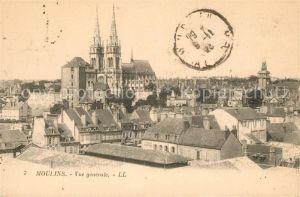 Moulins Allier Vue generale Eglise Sacre Coeur Kat. Moulins