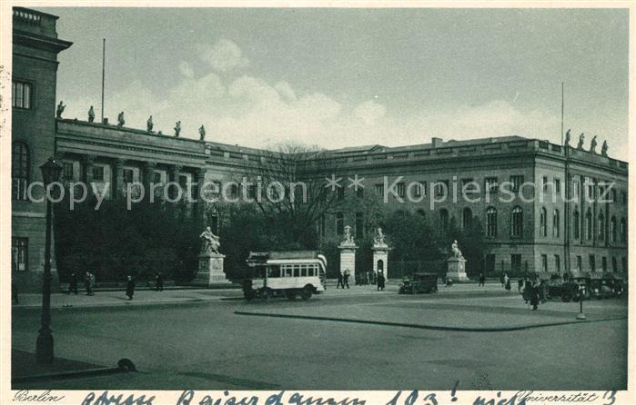 Berlin Universitaet Kat. Berlin