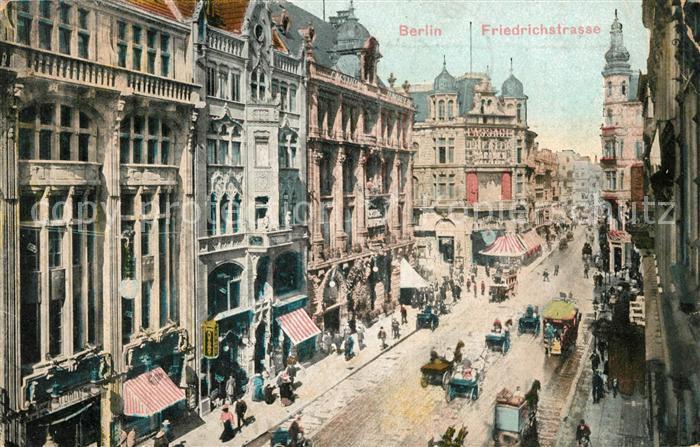 Berlin Friedrichstrasse Kat. Berlin