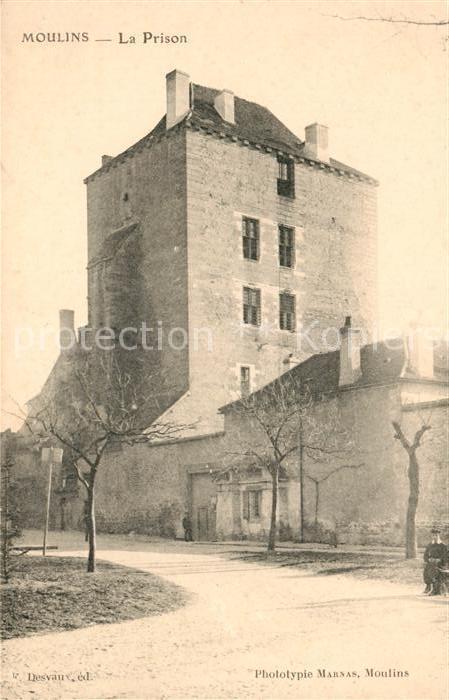 Moulins Allier La Prison Kat. Moulins