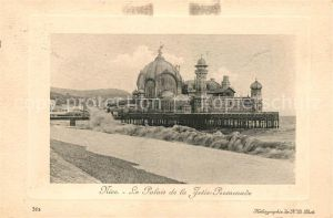 Nice Alpes Maritimes Palais de la Jetee Promenade Kat. Nice