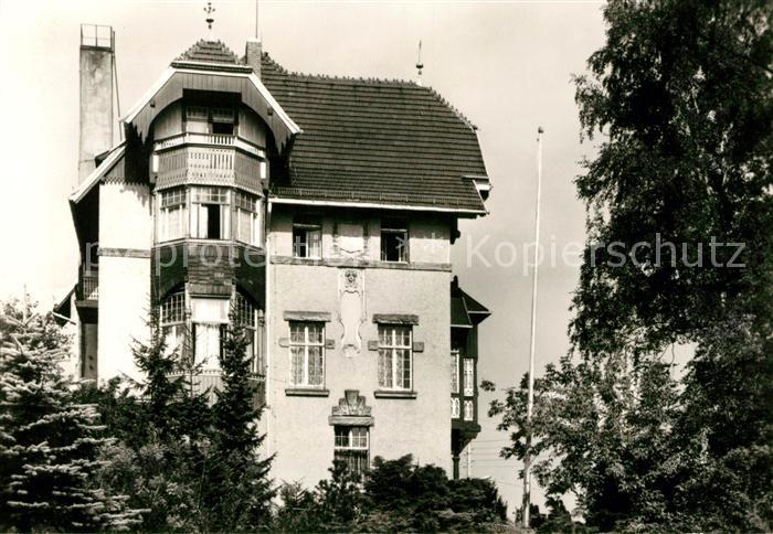 AK / Ansichtskarte Hartha Doebeln Betriebsgenesungsheim der Deutschen Reichsbahn Otto Rehschuh Kat. Hartha Doebeln
