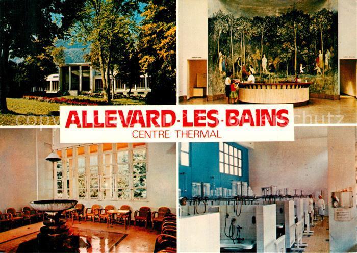 AK / Ansichtskarte Allevard les Bains Isere Centre Thermal Kat. Allevard