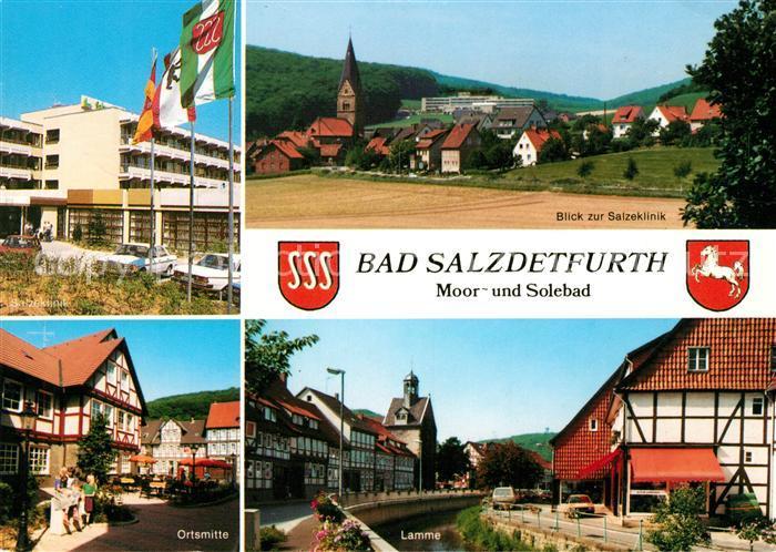 AK / Ansichtskarte Bad Salzdetfurth Salzeklinik Ortsmitte Lamme Kat. Bad Salzdetfurth 0