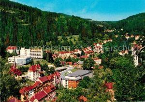 AK / Ansichtskarte Triberg Schwarzwald Hotel Badener Hof Rathaus Kat. Triberg im Schwarzwald