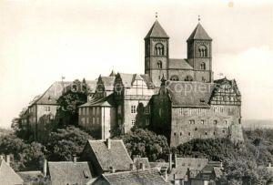 AK / Ansichtskarte Quedlinburg Schlossmuseum Stiftskirche Kat. Quedlinburg