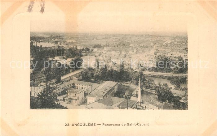 AK / Ansichtskarte Angouleme Panorama de Saint Cybard Kat. Angouleme