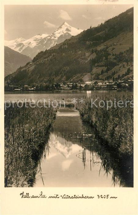 AK / Ansichtskarte Zell See mit Kitzsteinhorn Kat. Zell am See