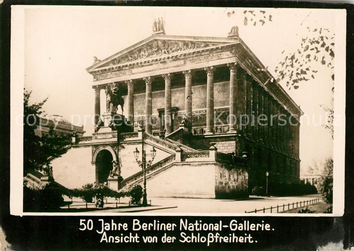 Berlin Berliner National Galerie Kat. Berlin