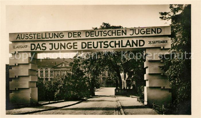 Berlin Ausstellung Das Junge Deutschland Schloss Bellevue Kat. Berlin