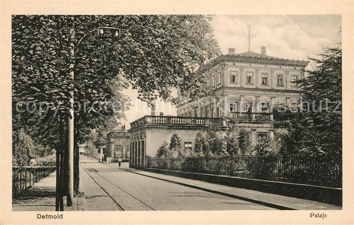 Detmold Palais Kat. Detmold