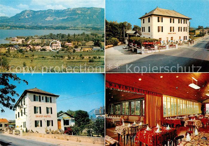 AK / Ansichtskarte Le Bourget du Lac Savoie Savoy Hotel  Kat. Le Bourget du Lac