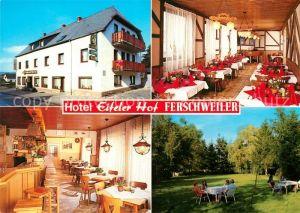 Ferschweiler Hotel Eifeler Hof Kat. Ferschweiler