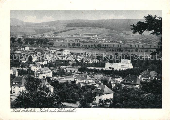 Bad Hersfeld Blick auf Kulturhalle Kat. Bad Hersfeld