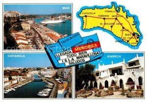 Menorca Mao Ciutadella Binibeca Kat. Spanien