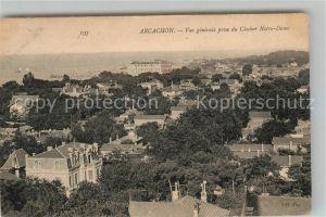 AK / Ansichtskarte Arcachon Gironde Vue generale prise du Clocher Notre Dame Kat. Arcachon
