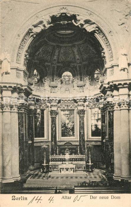 Berlin Neuer Dom Altar Kat. Berlin