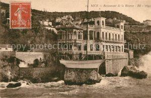 Nice Alpes Maritimes Restaurant de la Reserve Cote d Azur Kat. Nice