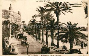 Cannes Alpes Maritimes Promenade de la Croisette Cote d Azur Kat. Cannes