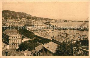 Cannes Alpes Maritimes Vue generale Port Cote d Azur Kat. Cannes