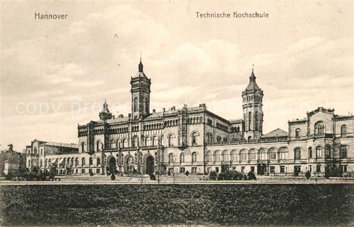 Hannover Technische Hochschule Kat. Hannover