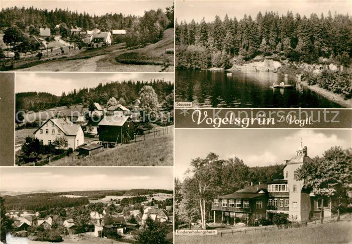 AK / Ansichtskarte Vogelsgruen Kindererholungsheim Stausee  Kat. Auerbach